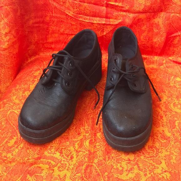 0187b0e3df Office Shoes | Black Platform | Poshmark